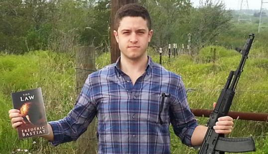 Cody Wilson, pioneer of 3-d printing in the field of firearms. NOW whatcha gonna do.